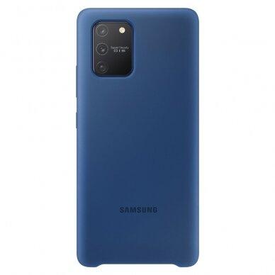 Samsung Silicone Cover Flexible Gel Case for Samsung Galaxy S10 lite blue (EF-PG770TLEGEU)