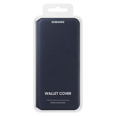 Samsung Wallet Cover Bookcase with Card Slot for Samsung Galaxy A70 white (EF-WA705PWEGWW) 4