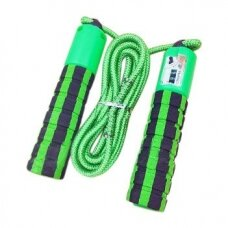 Skipping rope with a jump counter fitness crossfit green (hutl)
