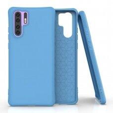 Soft Color Case flexible gel case for Huawei P30 Pro blue
