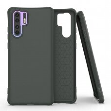 Soft Color Case flexible gel case for Huawei P30 Pro dark green