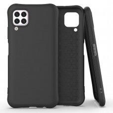 Soft Color Case flexible gel case for Huawei P40 Lite / Nova 7i / Nova 6 SE black