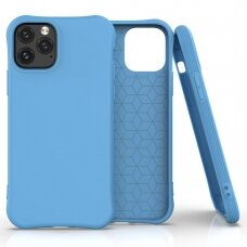 Soft Color Case flexible gel case for iPhone 11 Pro blue