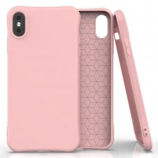 Soft Color Case flexible gel case for iPhone XS Max pink