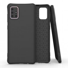 Soft Color Case flexible gel case for Samsung Galaxy M31s black