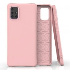 Soft Color Case flexible gel case for Samsung Galaxy M31s pink