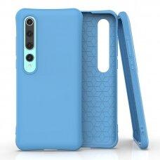 Soft Color Case flexible gel case for Xiaomi Mi 10 Pro / Xiaomi Mi 10 blue