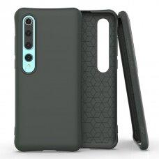 Soft Color Case flexible gel case for Xiaomi Mi 10 Pro / Xiaomi Mi 10 dark green