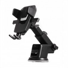 Telescopic Car Mount Phone Holder Dashboard or Windshield for black (HUTL) (hutl)