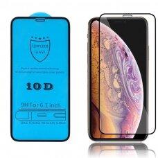Tempered glass 10D Full Glue Apple iPhone 12 mini curved black