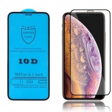 Tempered glass 10D Full Glue Apple iPhone 12 Pro Max curved black