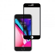 Tempered glass 5D Cold Carving Apple iPhone 6/6S black