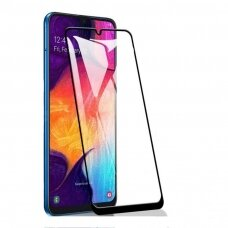 Tempered glass 5D Cold Carving Samsung A31 curved black