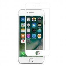 Tempered glass 5D Full Glue Apple iPhone 6/6S white