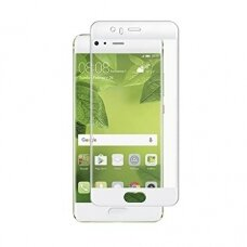 Tempered glass 5D Full Glue Huawei P10 curved white