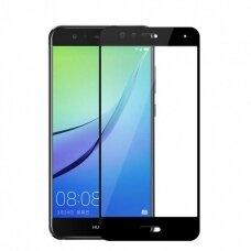 Tempered glass 5D Full Glue Huawei P10 Lite curved black