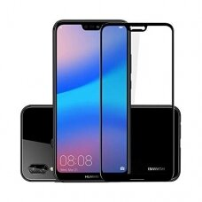 Tempered glass 5D Full Glue Huawei P20 curved black
