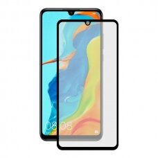 Tempered glass 5D Full Glue Huawei P30 curved black