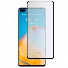Tempered glass 5D Full Glue Huawei P40 curved black