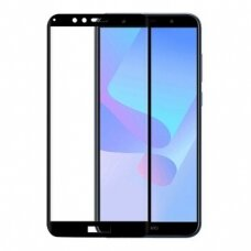 Tempered glass 5D Full Glue Huawei Y6 2018 curved black