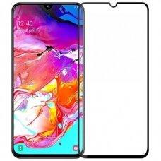 Tempered glass 5D Full Glue Samsung A105 A10 curved black