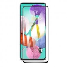Tempered glass 5D Full Glue Samsung A41 A415 curved black