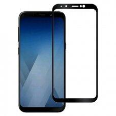 Tempered glass 5D Full Glue Samsung A600 A6 2018/J600 J6 2018 curved black
