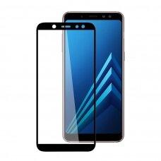Tempered glass 5D Full Glue Samsung A605 A6 Plus 2018 curved black