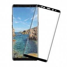 Tempered glass 5D Full Glue Samsung A9 2018 curved black