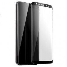 Tempered glass 5D Full Glue Samsung G965 S9 Plus curved black