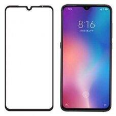 Tempered glass 5D Full Glue Xiaomi Mi 9 curved black