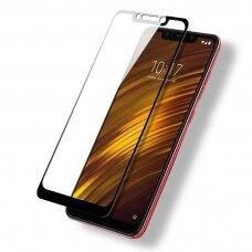 Tempered glass 5D Full Glue Xiaomi Pocophone F1 curved black
