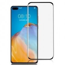 Tempered glass 9D Curved Full Glue Huawei P40 Pro black