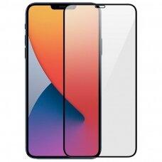 Tempered glass 9D Full Glue Apple iPhone 12 Pro Max black