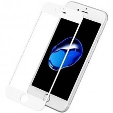 Tempered glass 9D Full Glue Apple iPhone 7/8/SE2 white