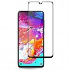 Tempered glass 9D Full Glue Samsung A105 A10 black