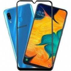 Tempered glass 9D Full Glue Samsung A405 A40 black