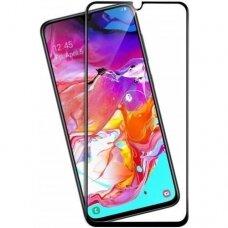 Tempered glass 9D Full Glue Samsung A705 A70 black