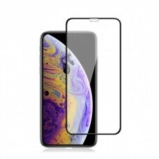 Tempered glass 9H 5D Apple iPhone XR/11 black