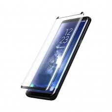 Tempered glass Adpo 3D case-friendly Samsung G955 S8 Plus curved black