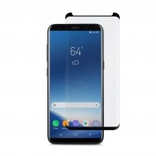 Tempered glass Adpo 3D case-friendly Samsung G965 S9 Plus curved black