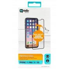 Tempered glass BeHello High Impact Glass 5D Apple iPhone 6 Plus/6S Plus/7 Plus/8 Plus