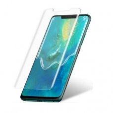 Tempered glass M1 5D UV Glue Samsung Huawei Mate 20 Pro curved transparent