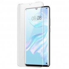 Tempered glass M1 5D UV Glue Samsung Huawei P30 curved transparent