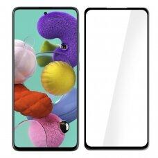Tempered glass MyScreen Diamond Edge Full Glue Samsung A715 A71 black