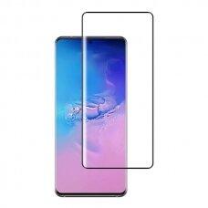 Tempered glass MyScreen Diamond Edge Full Glue Samsung S10 Lite/A91 black