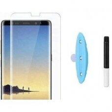 Tempered glass Nano Optics 5D UV Glue Huawei P20 Pro curved transparent