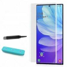 Tempered glass Nano Optics 5D UV Glue Samsung G975 S10 Plus curved transparent