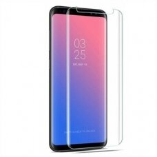 Tempered glass Nano Optics 5D UV Glue Samsung N950 Note 8 curved transparent