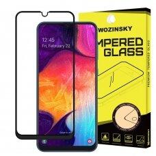 Tempered glass Wozinsky 5D case-friendly Xiaomi Redmi Note 8 black